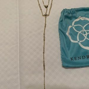 Kendra Scott Lariat Necklace